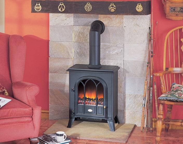Enamel fire gas stoves